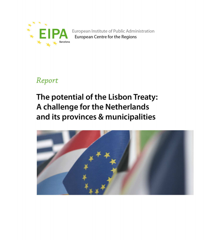 Afbeelding rapport The potential of the Lisbon treaty