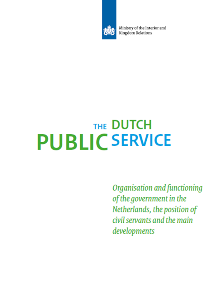 Afbeelding rapport The Dutch Public Service