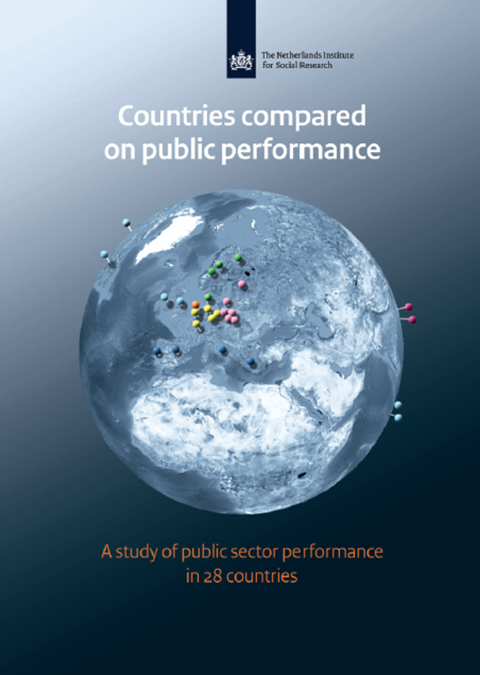 Afbeelding rapport Countries compared on public performance: A study of public sector performance in 28 countries