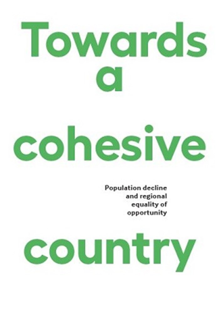 Afbeelding rapport Towards a cohesive country