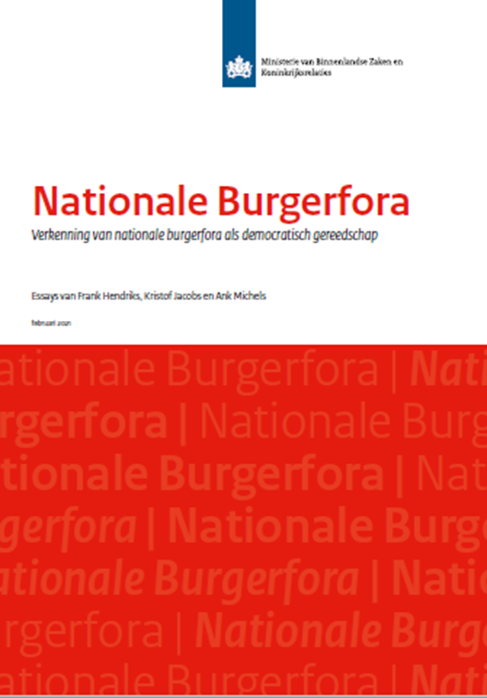 Afbeelding rapport Nationale Burgerfora